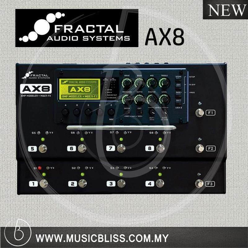 Fractal Audio AX8 Amp Modeler + Multi FX Processor (AX-8) Malaysia