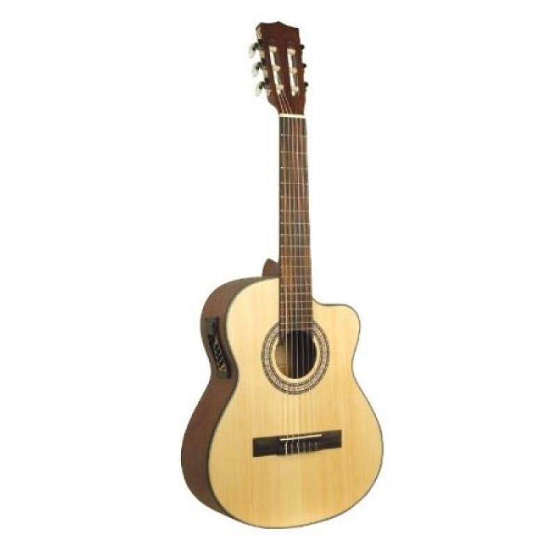 From USA Lucida LG-RQ2-E Requinto, Solid Top with EQ Malaysia
