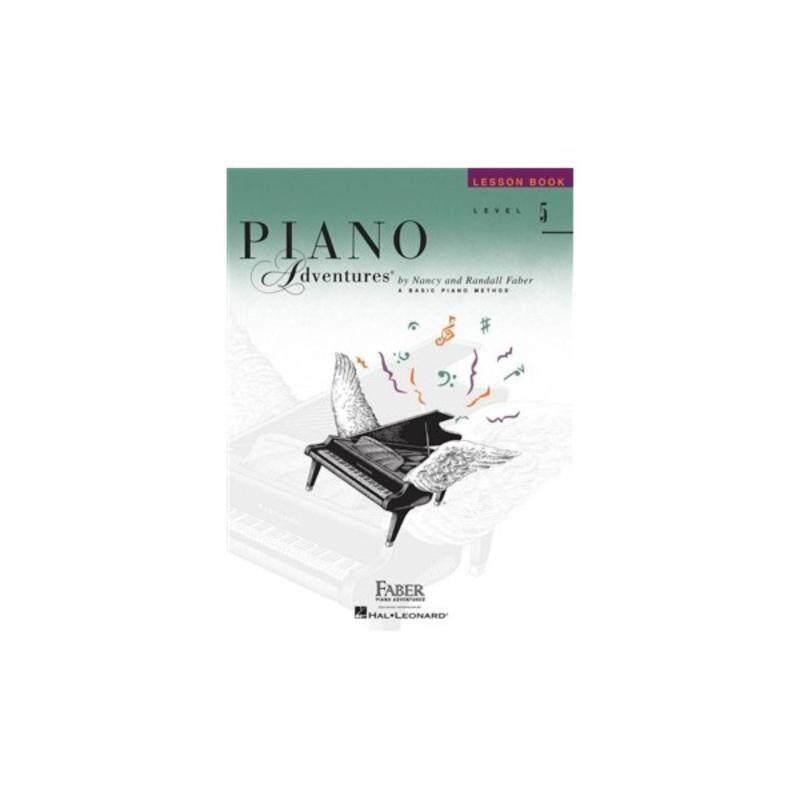 Hal Leonard Piano Adventures Lesson Book Level 5 Malaysia