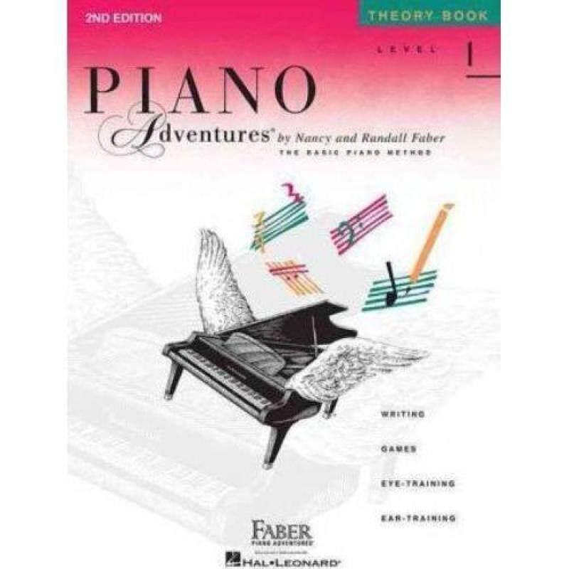 Hal Leonard Piano Adventures, Level 1, Theory Book Malaysia