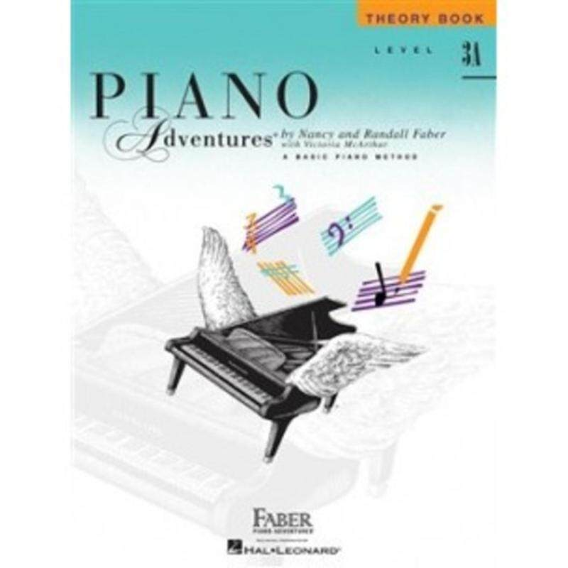 Hal Leonard Piano Aventures Theory Book Level 3A Malaysia