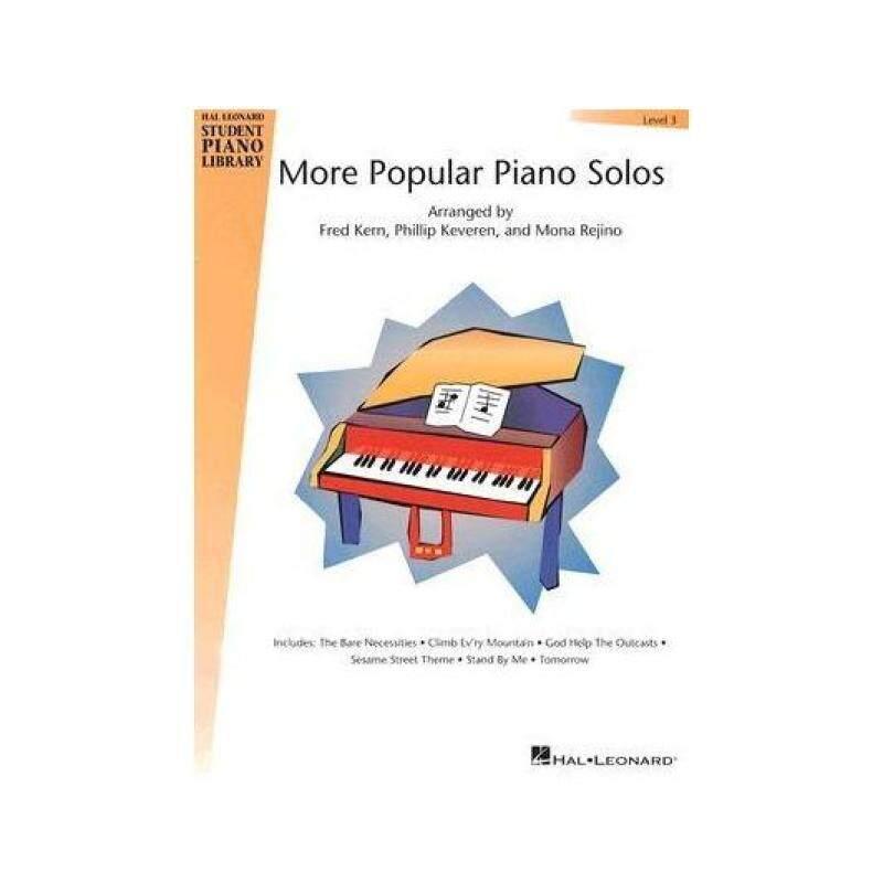 Hal Leonard Student Piano Library : More Popular Piano Solos - Level 3 Malaysia