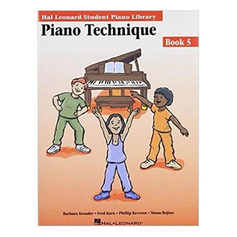 Hal Leonard Student Piano Library Piano Technique Book 5 Malaysia