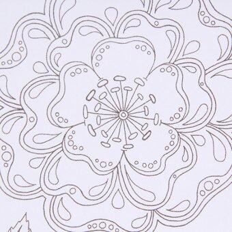 Hanyu Coloring Book Secret Garden 40 Pages English 4