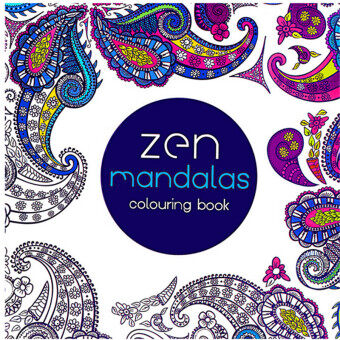 HengSong Secret Garden Zen Mandala And Coloring Book English12pages