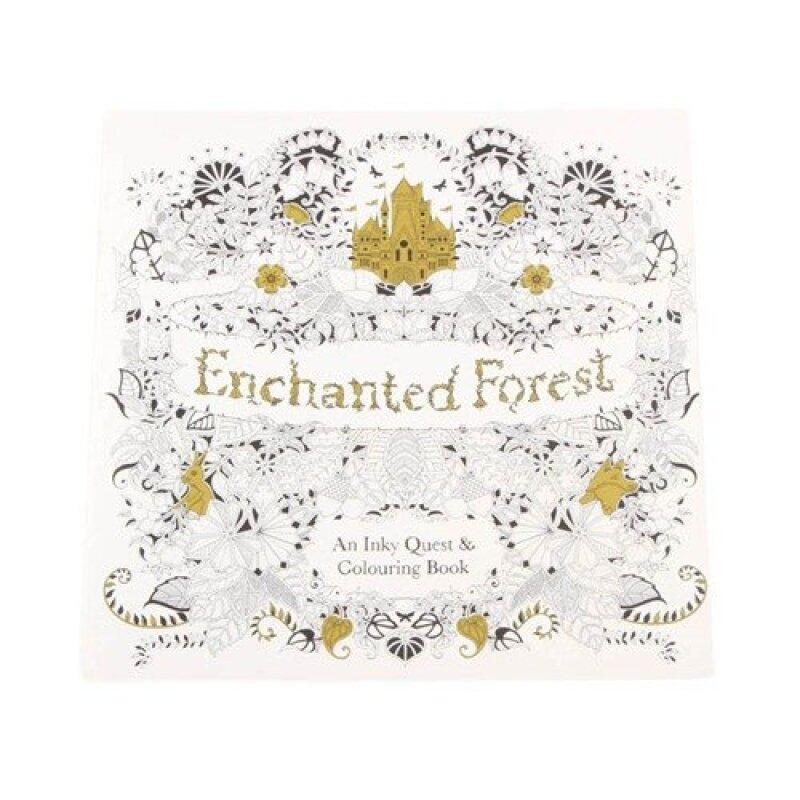 Hequ Secret Garden Series Enchanted Forest English Edition Malaysia