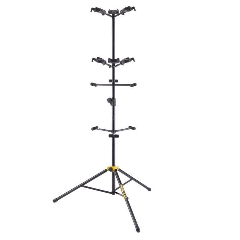 Hercules GS526B Auto-Grip Six-Guitar Stand with Backrests Malaysia