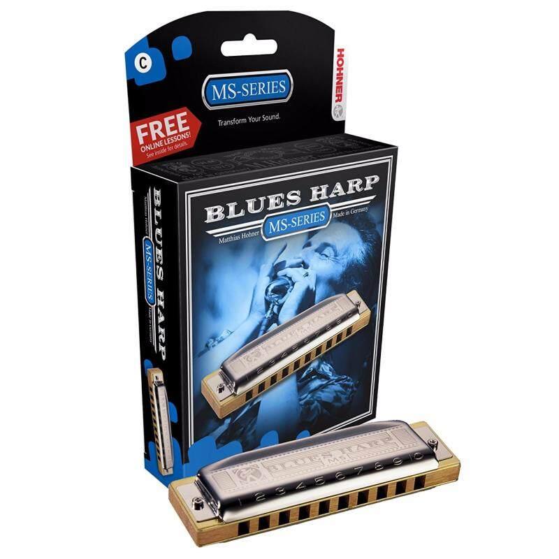 Hohner Blue Harp 10holes Key G Harmonica Malaysia