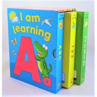 Harga I am Learning Box Set (3 Books)