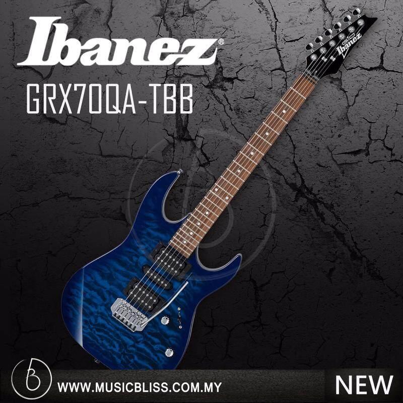 Ibanez GRX70QA GIO Series Electric Guitar (Transparent Blue Burst) Malaysia