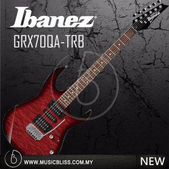 Harga Ibanez GRX70QA GIO Series Electric Guitar (Transparent Red Burst)