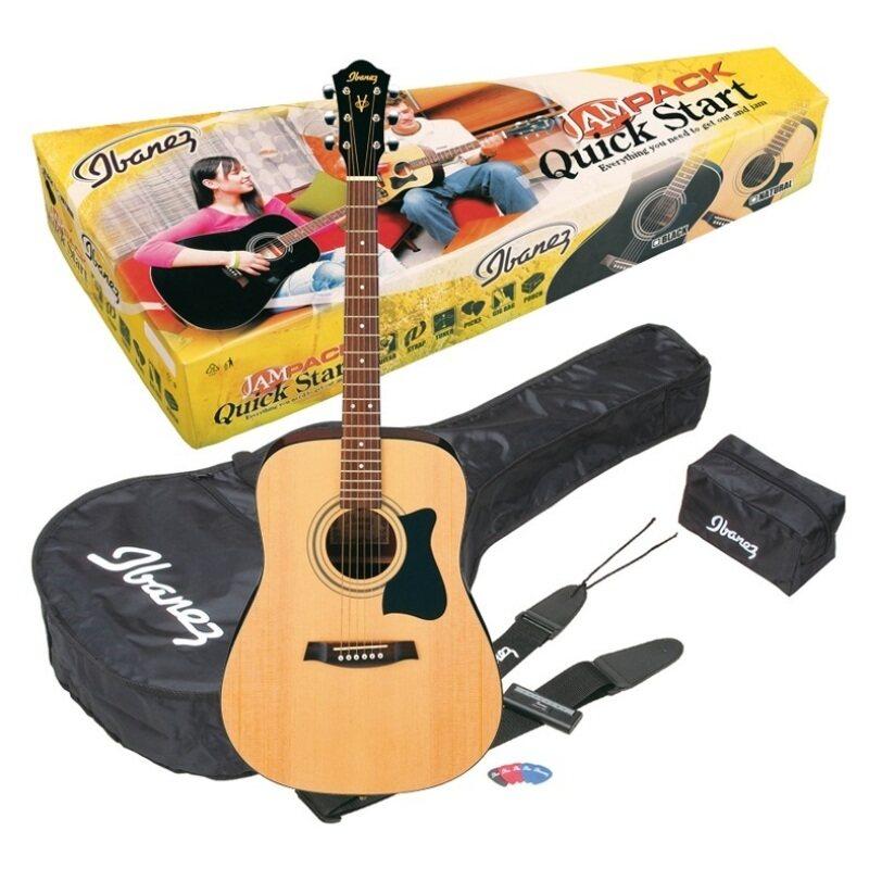 Ibanez Jampack Acoustic Guitar Package V50NJP-NT Malaysia