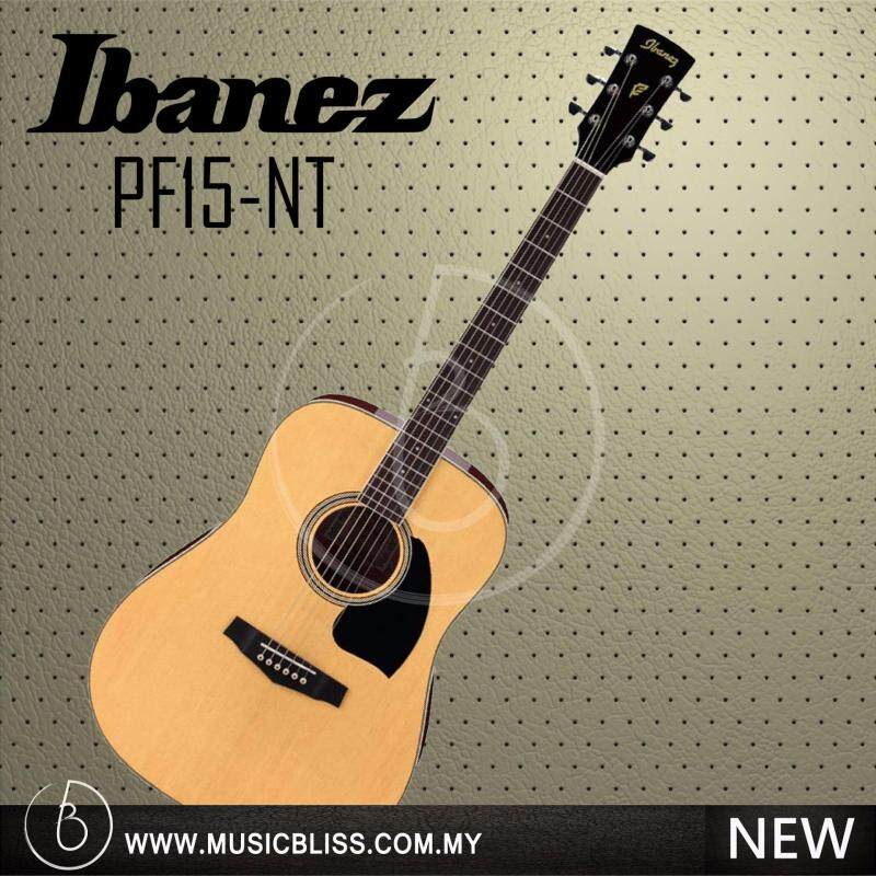 Ibanez PF15 Acoustic Guitar (Natural) Malaysia