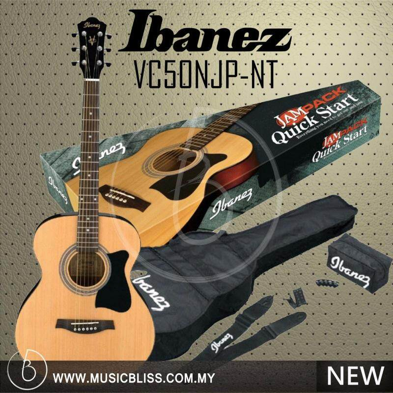 Ibanez VC50NJP Grand Concert Acoustic Guitar JamPack Malaysia