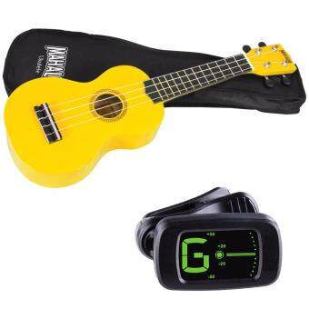 Harga Mahalo MR1 Soprano Ukulele Starter Pack Yellow with Bag and Tuner