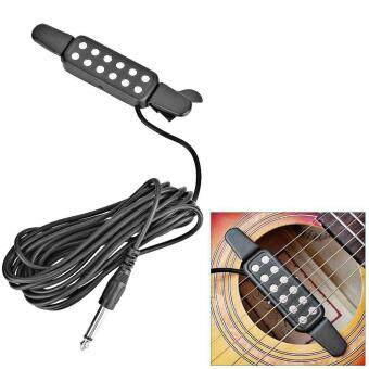 Harga Hole Sound Pickup Acoustic/Electric Transducer Microphone Wire Amplifier Speaker for Acoustic Guitar
