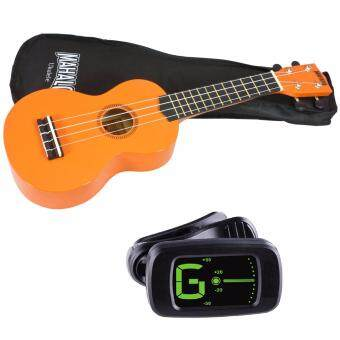 Harga Mahalo MR1 Soprano Ukulele Starter Pack Orange with Bag and Tuner