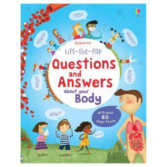 Harga Lift-the-flap questions and answers about your body