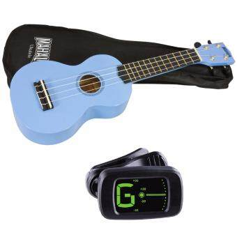 Harga Mahalo MR1 Soprano Ukulele Starter Pack Light Blue with Bag and Tuner