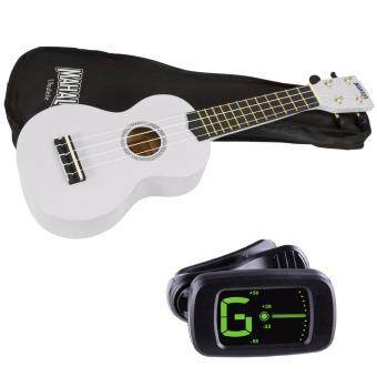 Harga Mahalo MR1 Soprano Ukulele Starter Pack White with Bag and Tuner