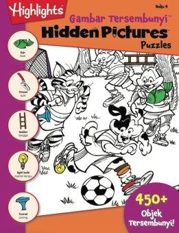 Harga HIGHLIGHTS - HIDDEN PICTURES PUZZLES 4 (BI-BM)