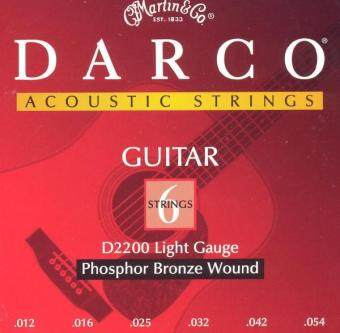 Harga Darco D2200 Acoustic Guitar Strings Phosphor Bronze Aco,012-054