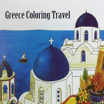 Harga Greece Coloring Travel 2016 New Secret Garden An Inky Treasure Hunt and Coloring Book for Children Adult Relieve Stress Kill Time Graffiti Painting Drawing Book-1PCS