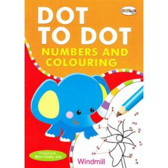 Harga Mamega Activity Book ( Number ) Dot To Dot And Colouring
