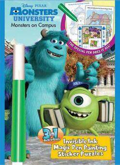 Harga Invisible Ink Magic Pen : Monsters University - Monsters on Campus