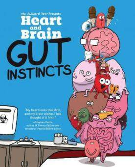 Harga Heart and Brain: Gut Instincts : An Awkward Yeti Collection