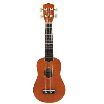 Harga 21 Inch Acoustic Soprano Hawaii Ukulele Musical Instrument Coffee