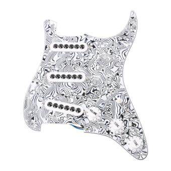 Harga LYWS SSS Prewired Loaded Pickguard Pickup for Strat Stratocast