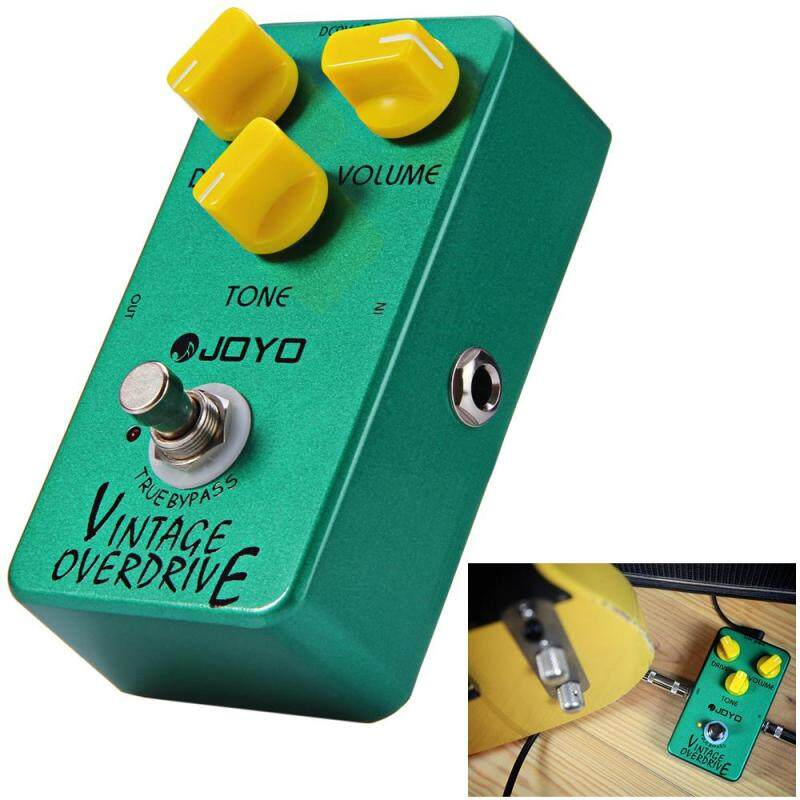 JOYO JF - 01 True Bypass Design Vintage Overdrive Electric Guitar Effect Pedal with Aluminum Alloy Material Malaysia