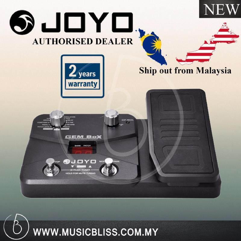 Joyo Multi-Effects Processor GEM Box Effect Pedal 2 Year Local Malaysia Warranty Malaysia
