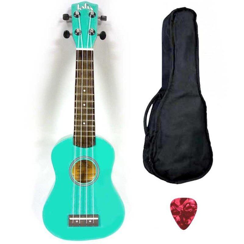 Kalua Ukulele Soprano KUS100 Turquoise (FOC bag + 1 pick ) Malaysia