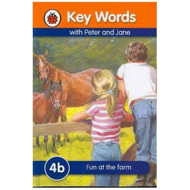 Key Words with Peter and Jane: 4b - Fun at the Farm Malaysia