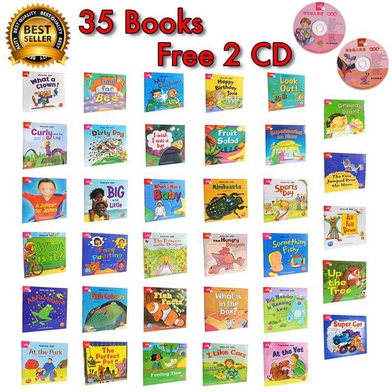 Kids Simple Words English 35 Books Free 2CD Malaysia