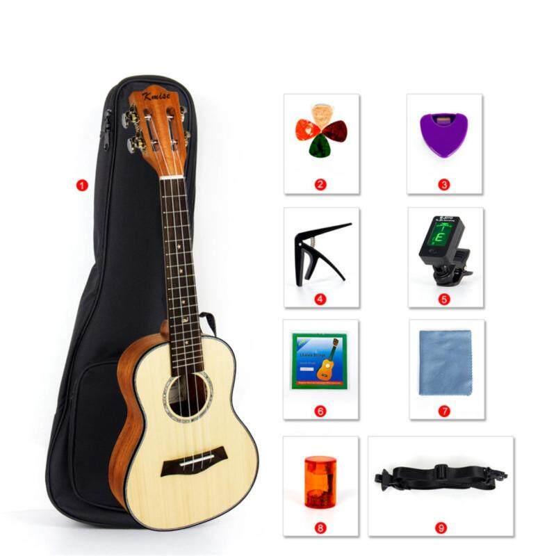 Kmise Classical Concert Ukulele Beginner Kit Solid Spruce Mahogany 23 Ukelele Hawaii Guitar for Starter and FREE 9 GIFTS Malaysia