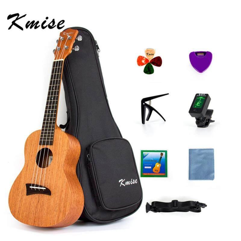 Kmise Ukulele Concert Ukelele 23 Inch Uke Hawaiian Hawaii Guitar Mahogany + Free GIFTS Malaysia