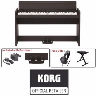 Korg LP-380 Digital Piano Black Rosewood (LP380)
