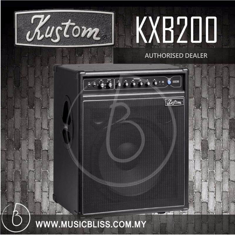 Kustom KXB200 200 Watt Bass Guitar Combo Amplifier (KXB-200) Malaysia