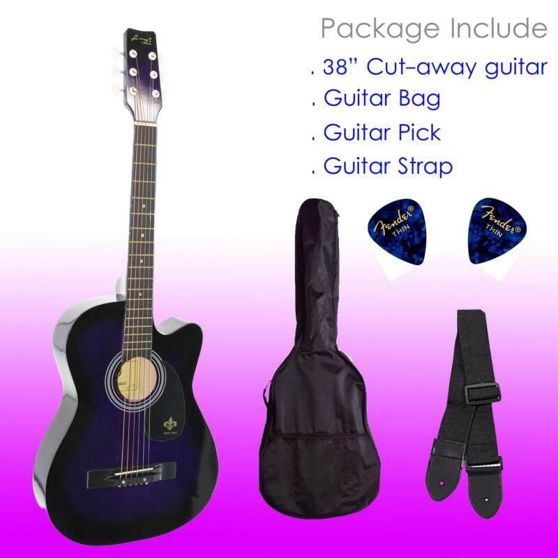 Langs 38 Acoustic Guitar SET Malaysia
