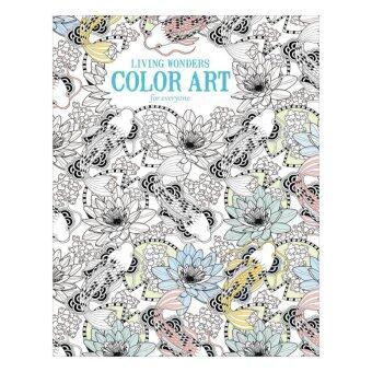 Harga Leisure Arts Books Living Wonders Color Art