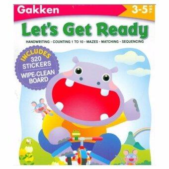 LET'S GET READY (GAKKEN WORKBOOKS)320 STICKERS 3-5 YEARS[PAPERBACK]