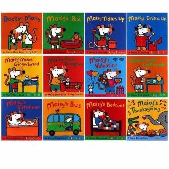 Maisy Story Picture Books Collection Set (10 Story book + Free 2 sticker book)