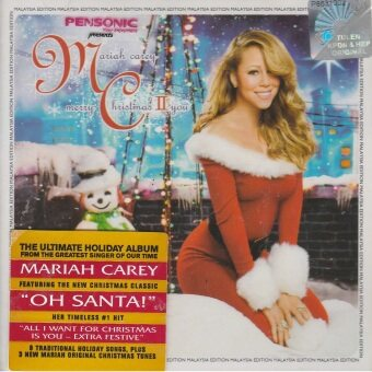 Harga MARIAH CAREY: MERRY CHRISTMAS II YOU LEP