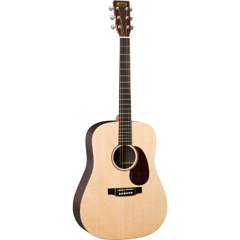 Martin Semi Acoustic Guitar DX1RAE /Top:Solid Sitka Spruce,B&S:Indian Rosewood Pattern HPL/ Fishman Sonitone Without Case Malaysia