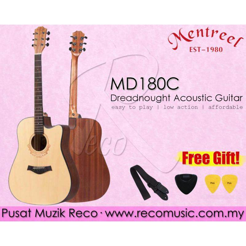 Mentreel MD180C Dreadnought Acoustic Guitar Malaysia