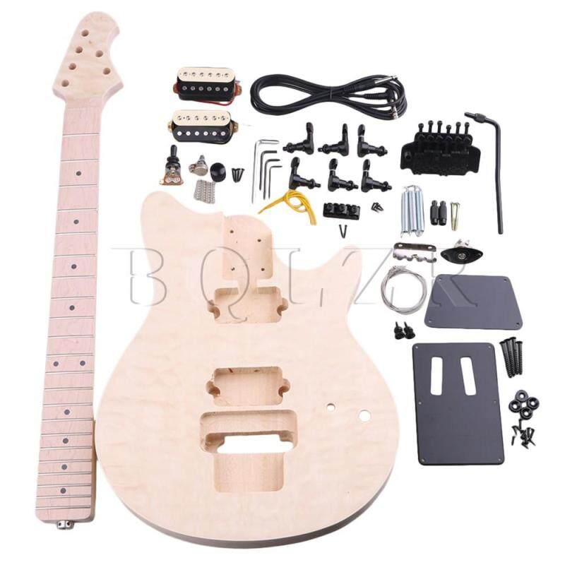 MM1-F Maple Basswood 6 String Electric Guitar Builder DIY Kit Malaysia
