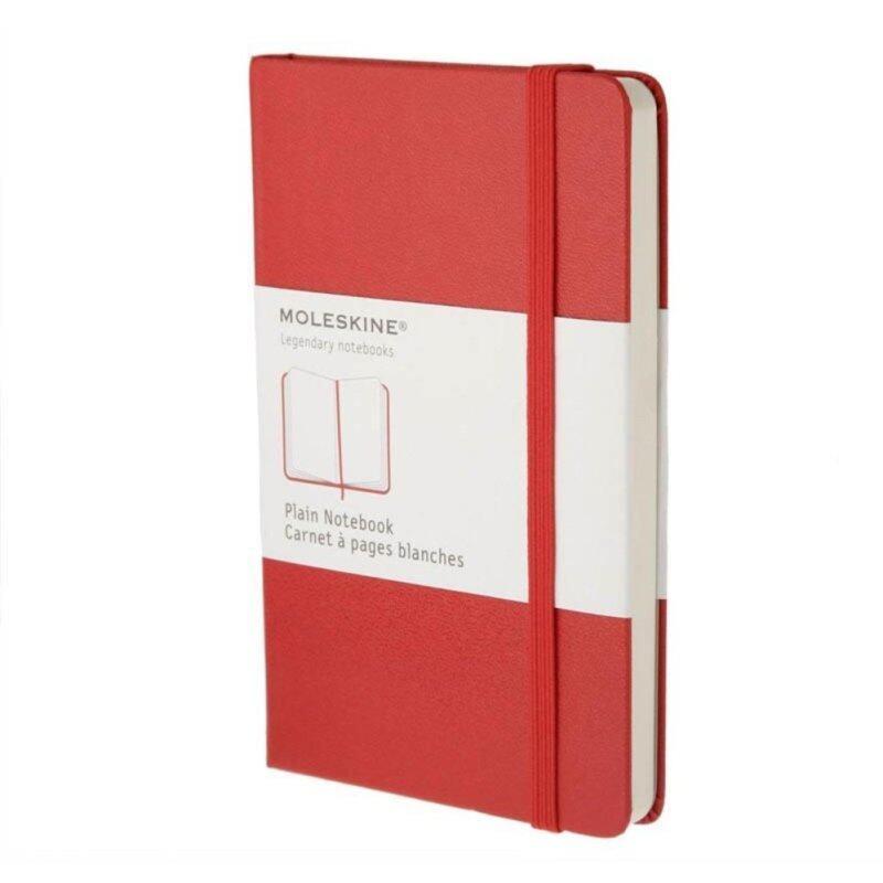 Moleskine Plain Red Notebook - Large - Hard Cover Malaysia